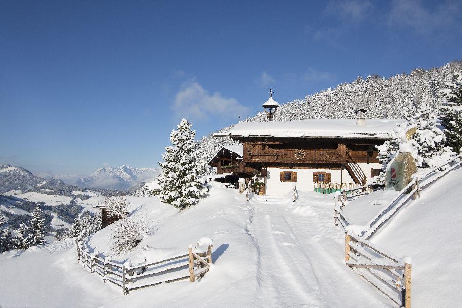 Wie wär´s mit einem Winterurlaub in den verschneiten Bergen?