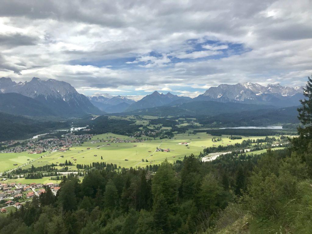 Deine Aussicht auf dem Magdalena Neuner Panoramaweg am Krepelschrofen