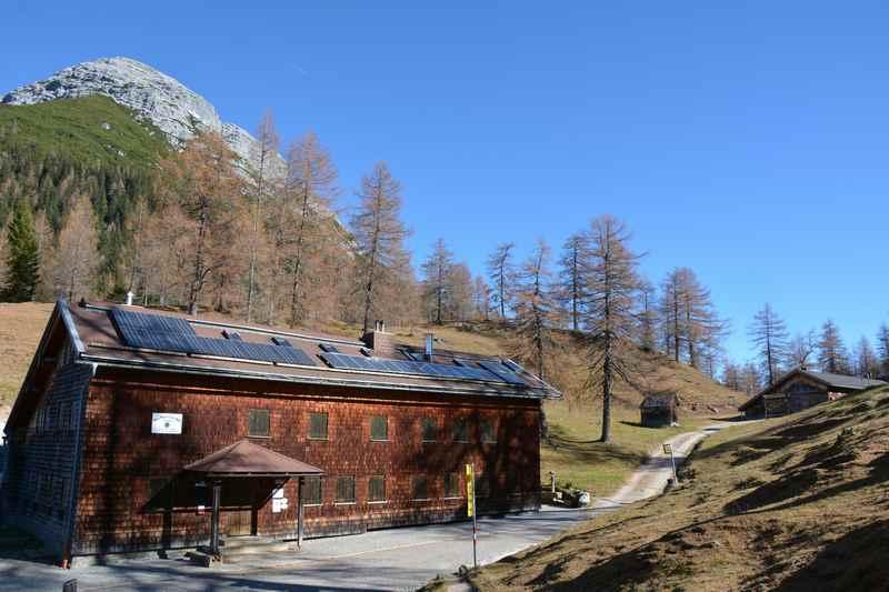 Die neue Magdeburger Hütte bei Innsbruck im Karwendel, Zirl