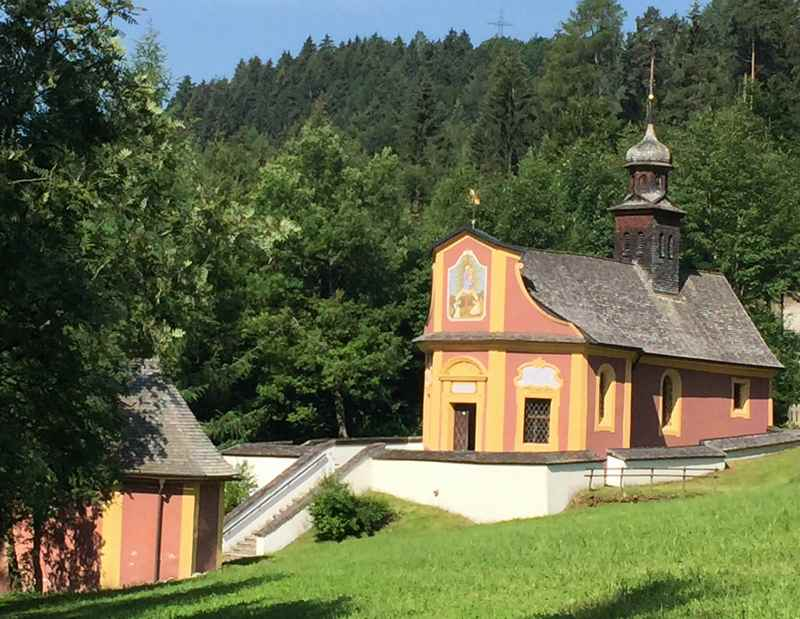 Jakobsweg Tirol - Wallfahrtsort Maria Larch