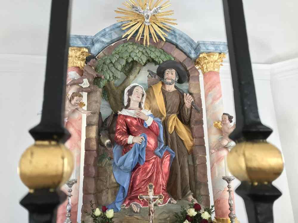 Das Altarbild in Maria Rast