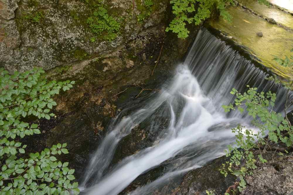 Mittenwald Wasserfall - hier der Laintal Wasserfall