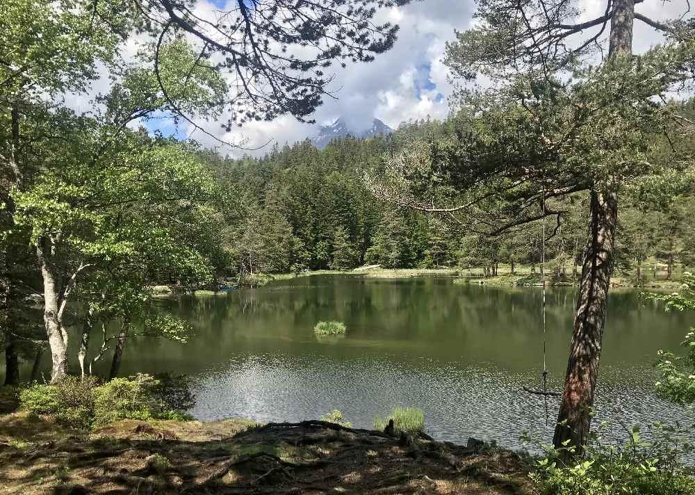 Möserer See Tirol - einmal rund um den See wandern