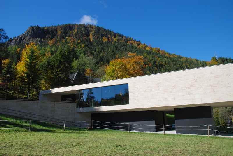 Das Naturparkhaus Hinterriss - Infozentrum über das Karwendel in der Eng