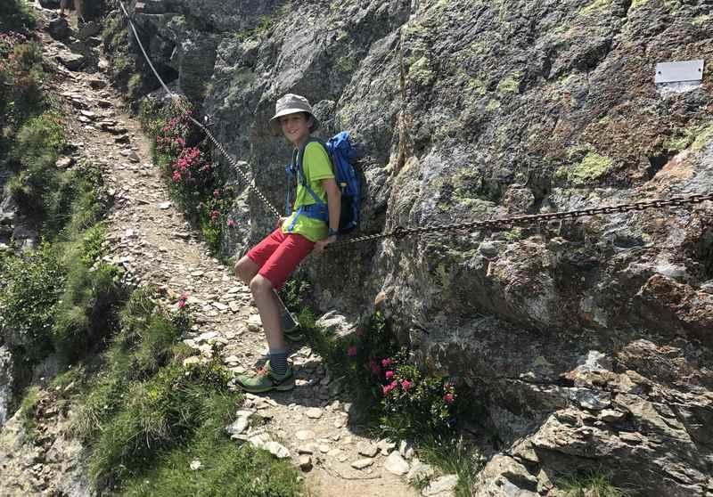 Auf die Neunerspitze wandern in den Tuxer Alpen