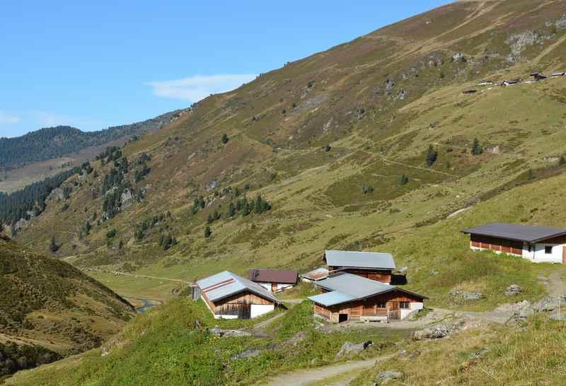 Wandern in Weerberg auf die Nurpensalm in den Tuxer Alpen