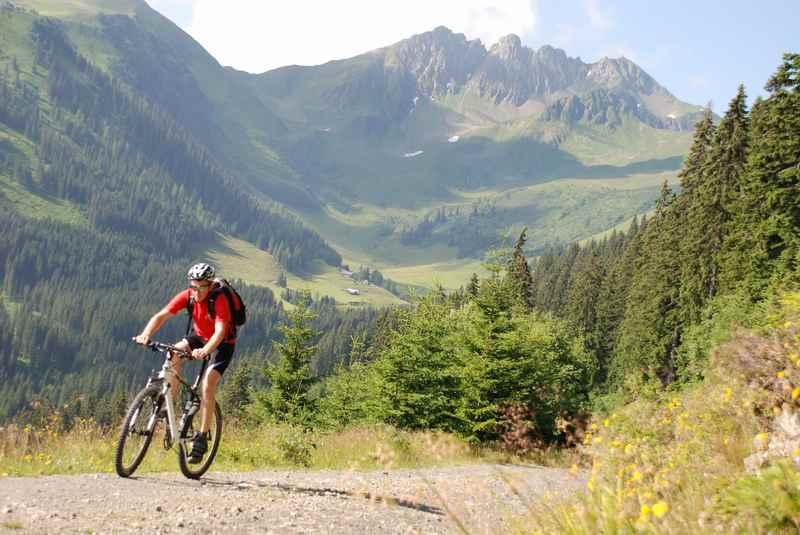 Ich gehe hier gerne mountainbiken
