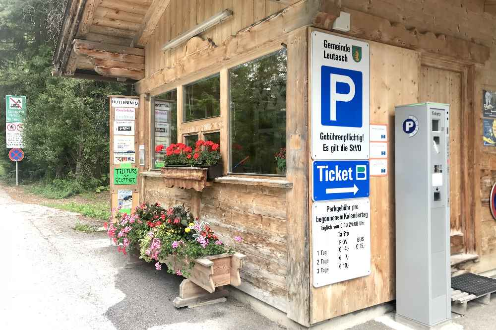 Wieviel kostet das Parken im Gaistal? Das sind die Parkgebühren in der Leutasch.
