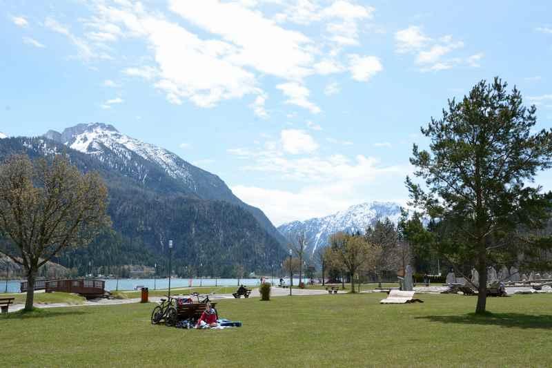 Geht auch gut für ein Picknick am Achensee