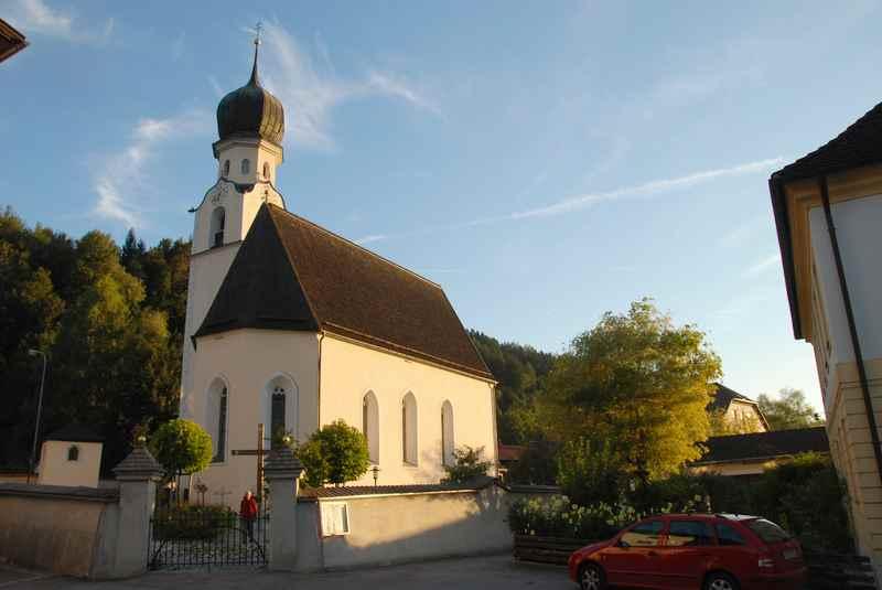 Die Kirche in Pill im Inntal