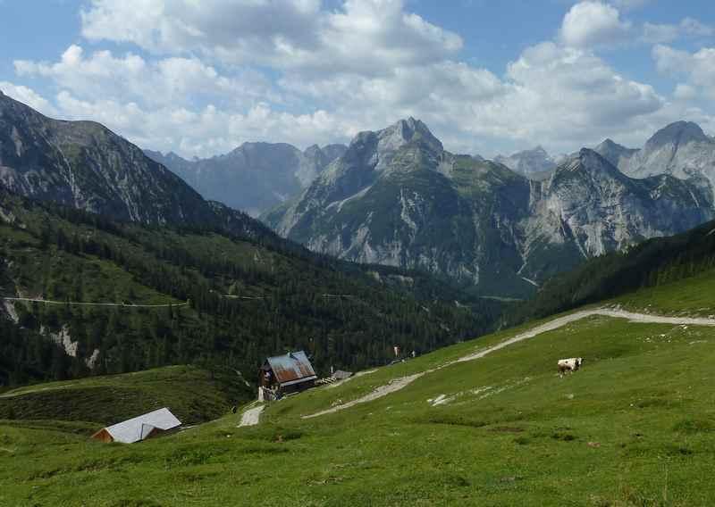 Tolle Achensee Wanderung auf die Plumsjochhütte im Karwendel