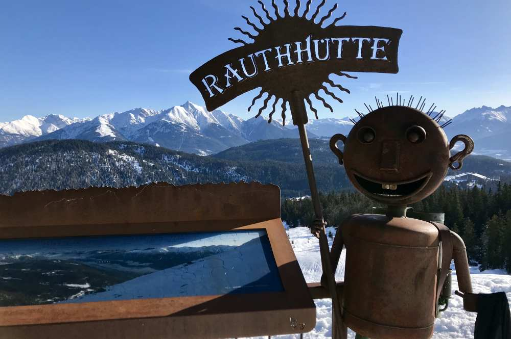 Das ist fantastische Blick von der Rauthhütte auf das Karwendel