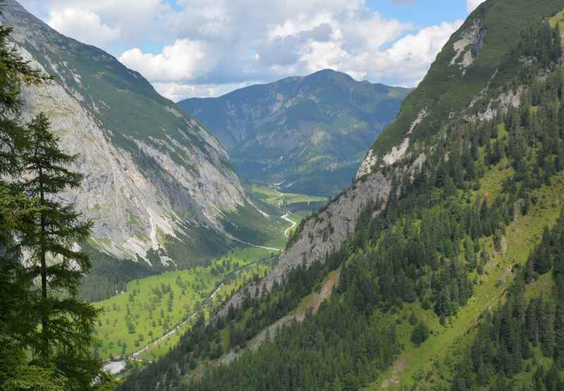 Das Risstal mit dem Ahornboden im Karwendel