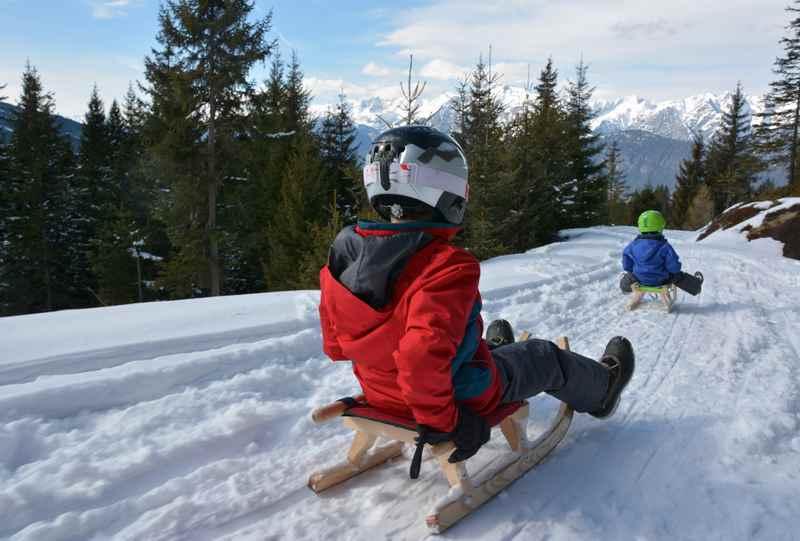 Rodelbahn Innsbruck - wir stellen die schönsten Rodelbahnen der Stadt in Tirol vor