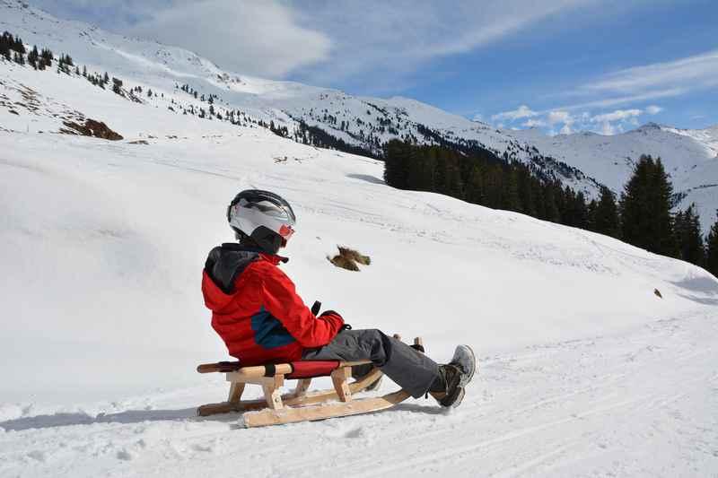 Das macht Spaß: Rodeln in Innsbruck, im Karwendel und den Tuxer Alpen