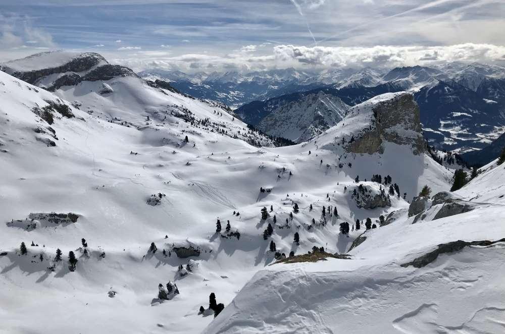 Rofan Skitour - auf dem Weg zum Hochiss