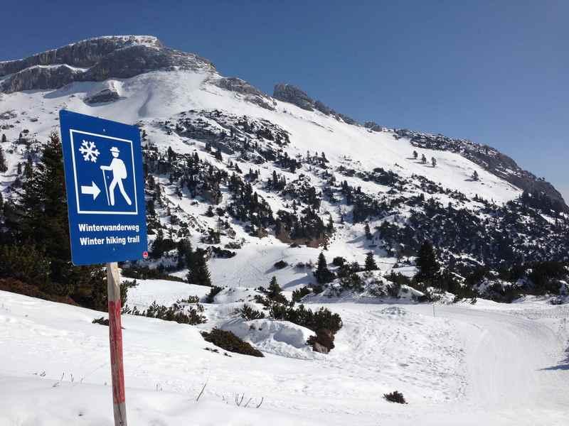 Winterwandern Achensee: So ist die Winterwanderung im Rofan