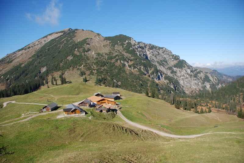Auf die Rotwandalm in Achenkirch wandern
