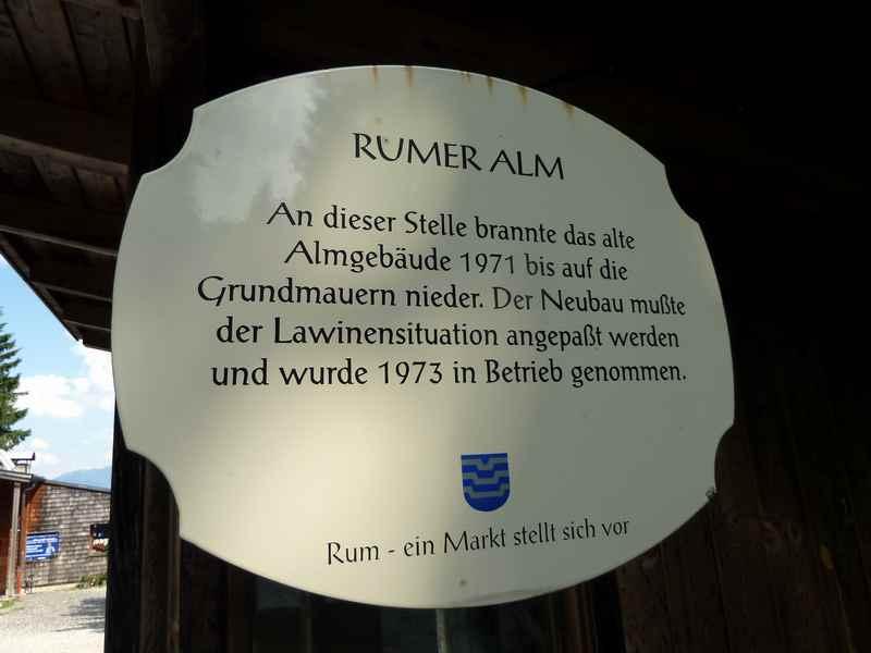 Ausflug in die Geschichte derRumer Alm im Karwendel