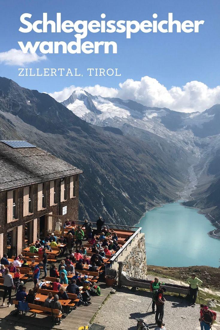 Schlegeisspeicher Zillertal - zum Wandern und eine der Top Zillertal Sehenswürdigkeiten, unbedingt merken!Schlegeisspeicher Zillertal - zum Wandern und eine der Top Zillertal Sehenswürdigkeiten, unbedingt merken!