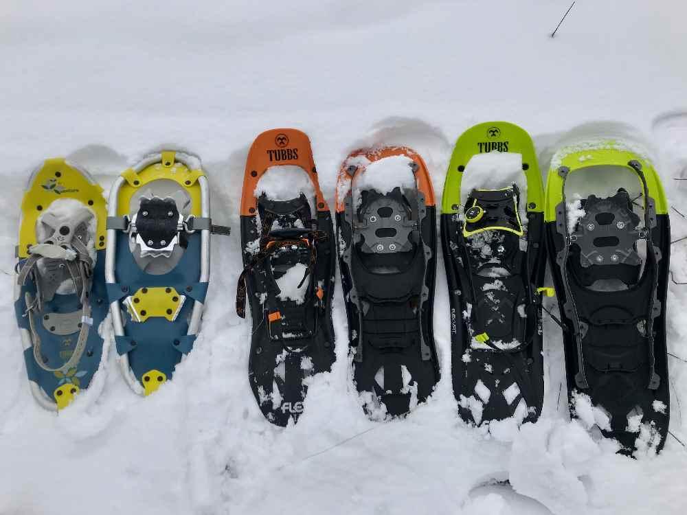 Ich zeige dir alles, was du für deine Ausrüstung zum Schneeschuhwandern wissen solltest