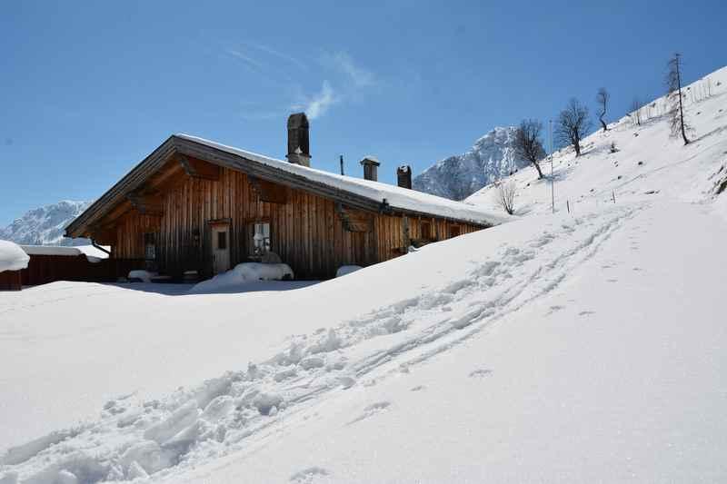 Vom Achensee zur Feilalm schneeschuhwandern in Tirol