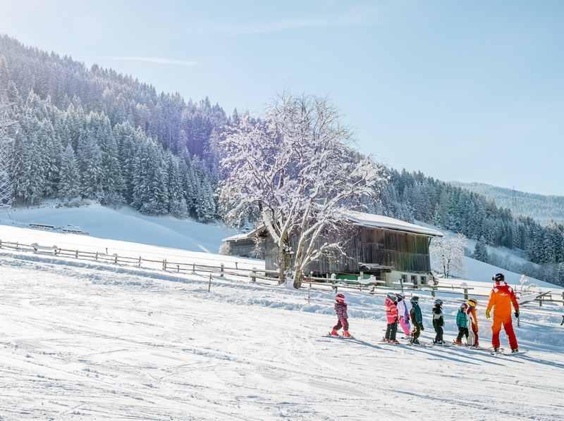 Gute Bedingungen für einen Skikurs in Tirol: Der Schwannerlift Weerberg