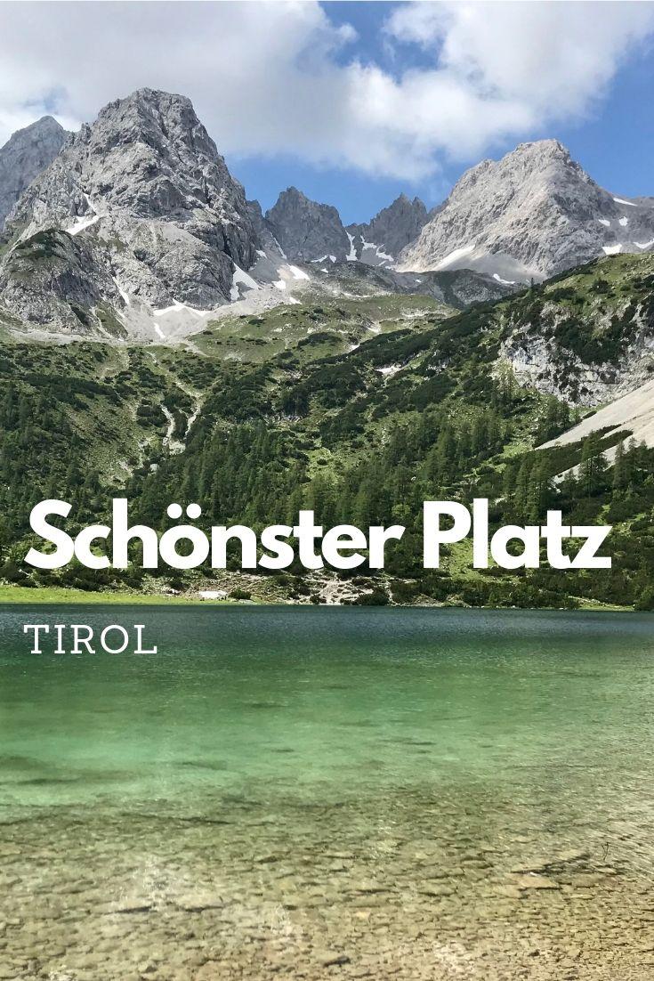 Der Seebensee wurde von den Zuschauern des österreichischen Fernsehens zum schönsten Platz in Tirol gewählt