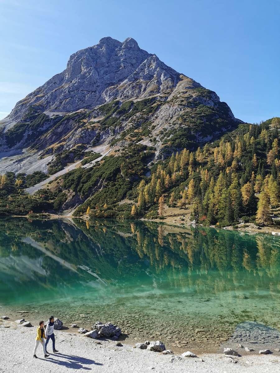 Einer der schönsten Seen in Tirol: Der Seebensee