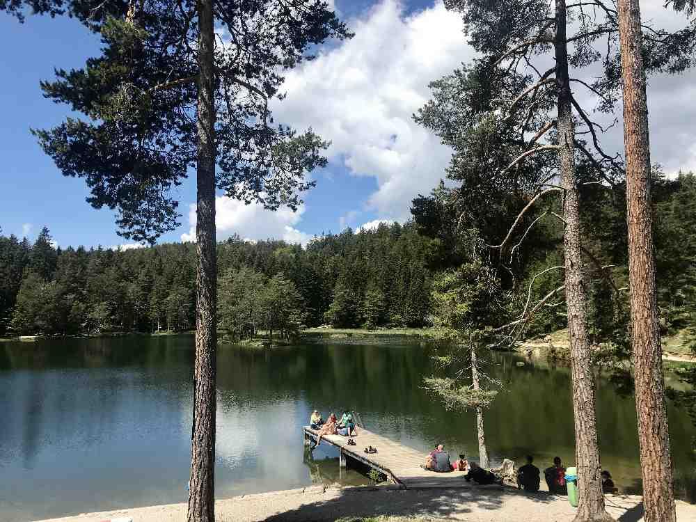 Das ist der Seefeld Sommer am Möserer See. Es gibt noch mehr Seen in Seefeld.
