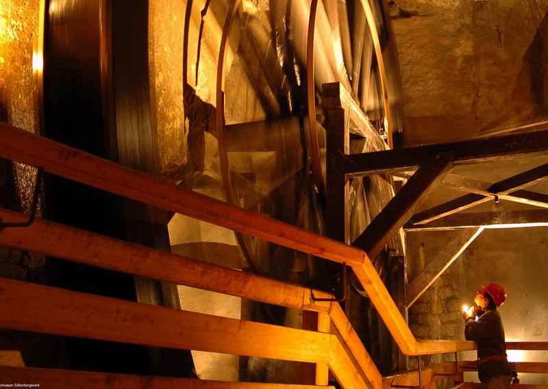 Das Silberbergwerk Schwaz, gehört zu den Top Sehenswürdigkeiten in Tirol