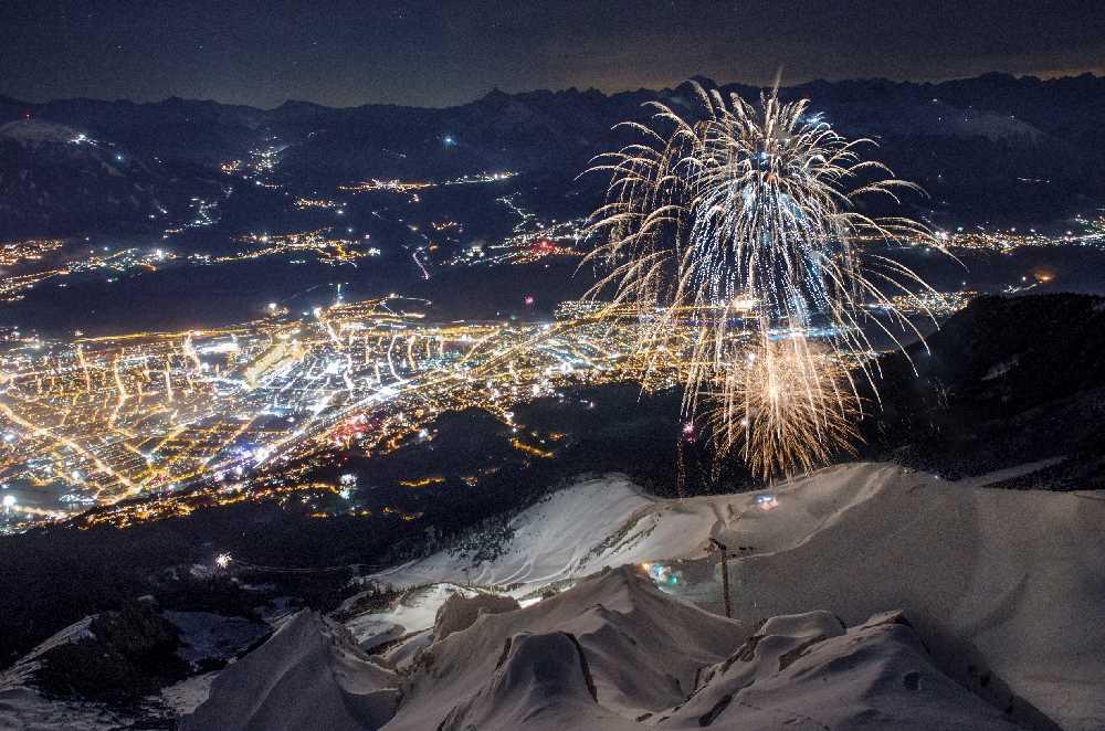 Eine ganz besondere Silvesterfeier: Silvester in den Bergen auf der Nordkette, Bild: Nordkette Bergbahn