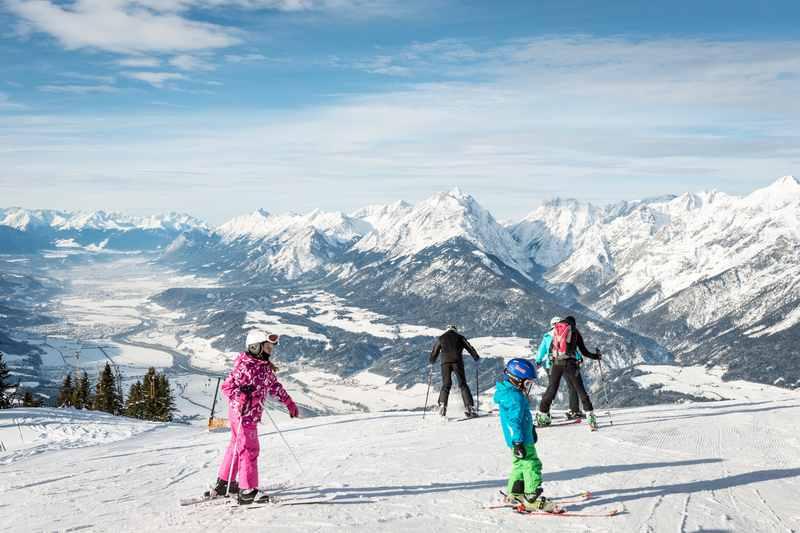Skigebiet Kellerjoch - Skifahren mit Kindern in Tirol