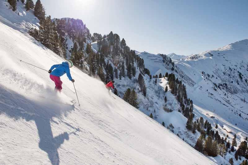 Das Skigebiet Mayrhofen hat die steile Harakiri Skipiste, Foto: Bergbahn Mayrhofen