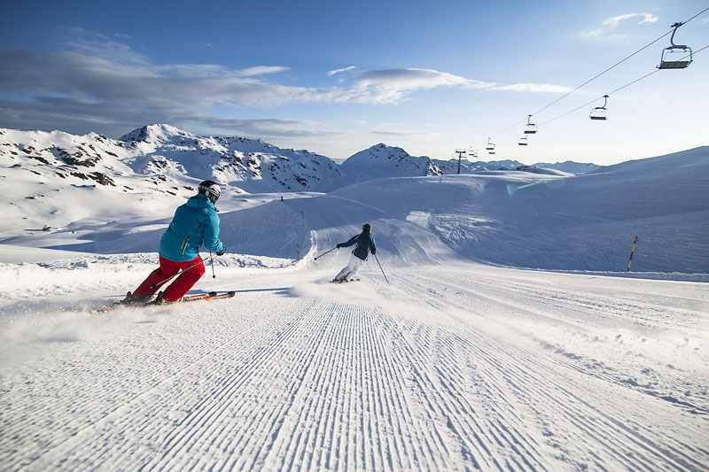 Das Skigebiet Zillertal Arena ist eines der 6 schönsten Gebiete, Bild: Zillertal Arena