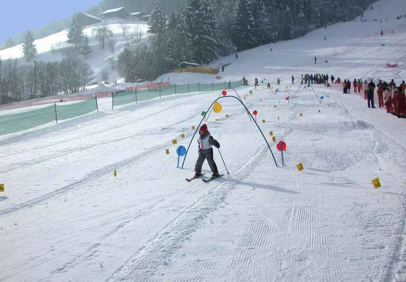 Skilift Vögelsberg - für Kinder gut zum Skifahren lernen beim Skikurs