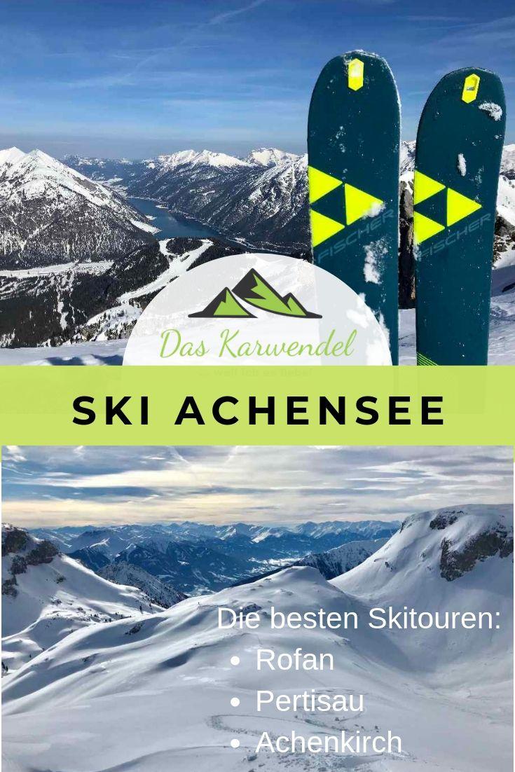 Skitour Achensee merken - mit diesem Pin auf Pinterest für deine Tourenplanung!