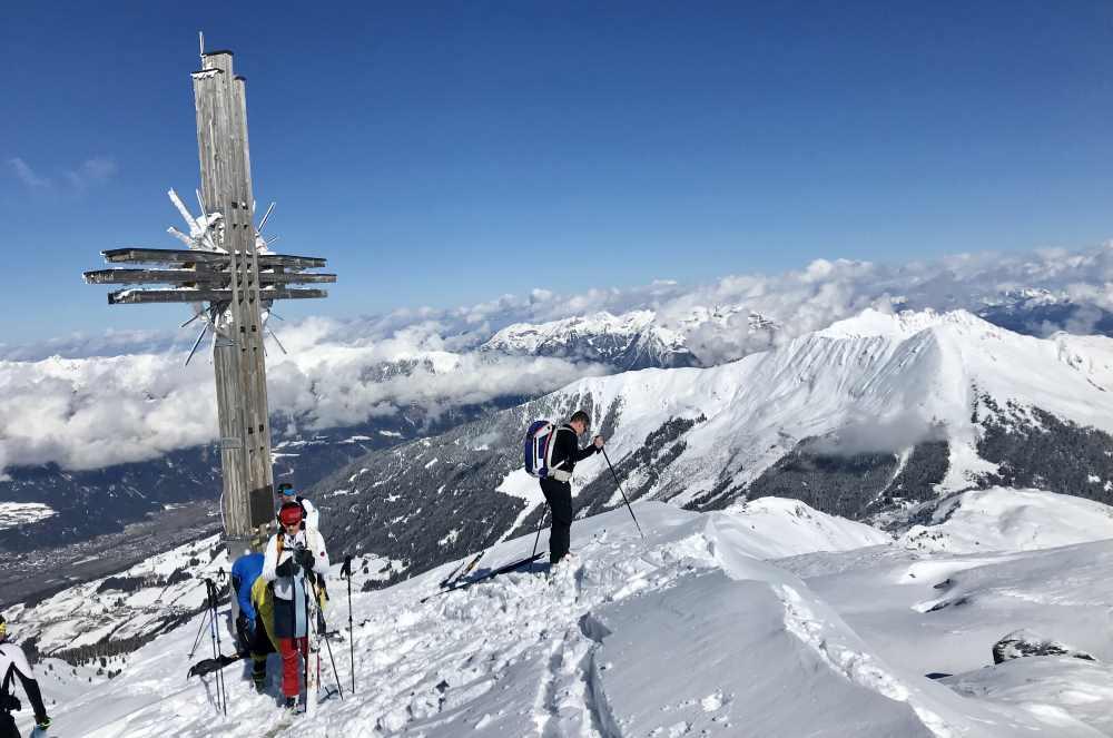 Skitouren in den Tuxer Alpen - mit viel Panorama