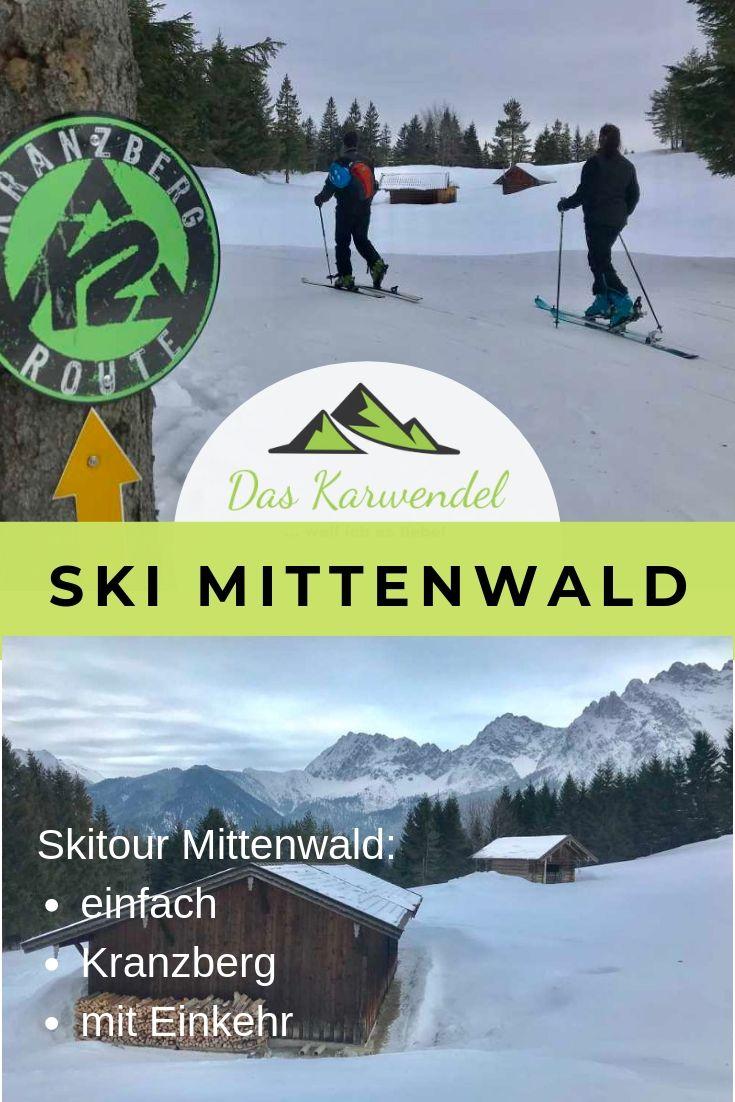 Skitour Mittenwald - merk dir diesen Pin auf Pinterest für deine nächste Tourenplanung!