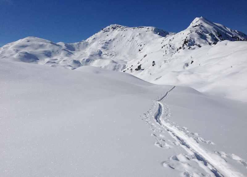 Skitour Sonntagsköpfl in den Tuxer Alpen