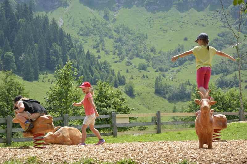 Wir stellen hier vor: Die schönsten Spielplätze im Karwendel
