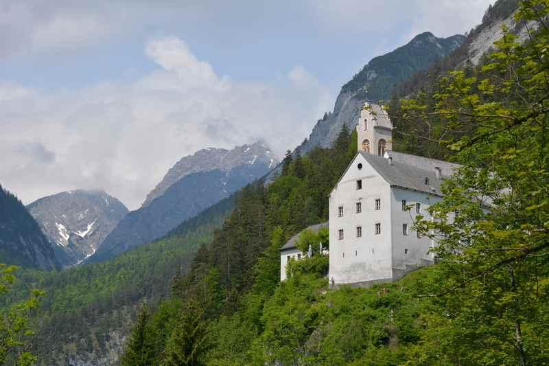 Das ist St. Georgenberg im Karwendel