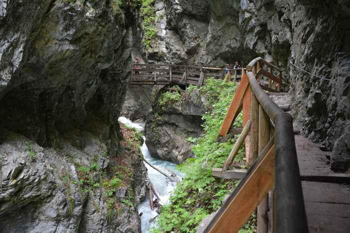 Die schönste Klamm im Karwendel: Die Wolfsklamm in Stans, direkt im Inntal