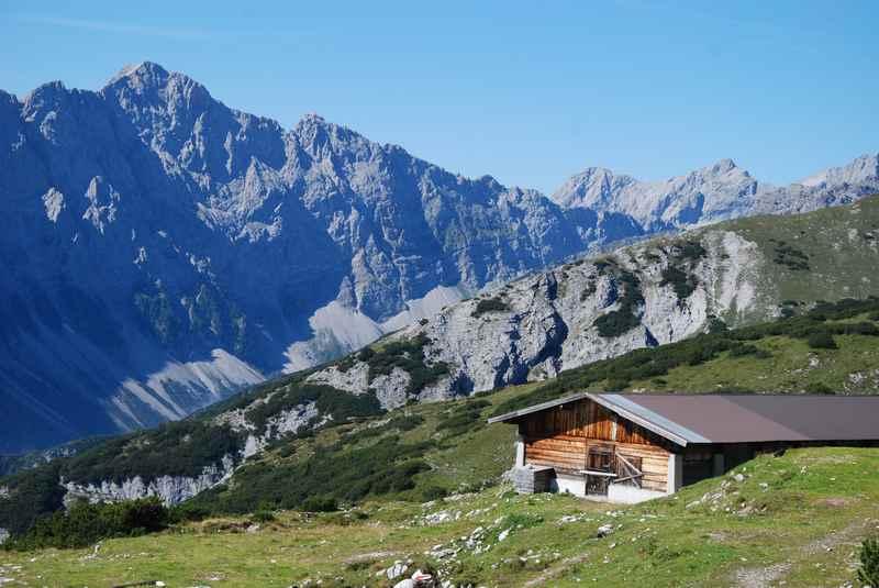 Auf das Stanser Joch wandern, schöne Bergwanderung