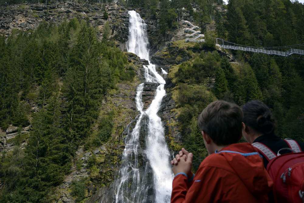 Stuibenfall Ötztal - der größte Wasserfall in Tirol. Lohnt sich anzuschauen!