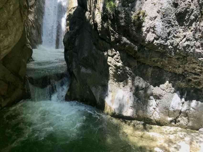 Tatzlwurm Wasserfälle - beeindruckend die beiden Kaskaden mit dem glasklaren Wasser