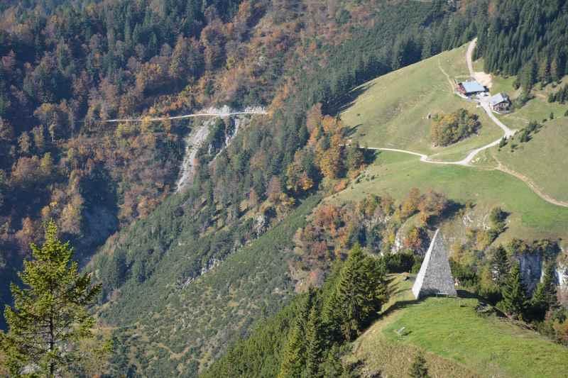 Kaisersäule wandern: Von der Thaurer Alm zur Kaisersäule in Innsbruck wandern im Karwendel
