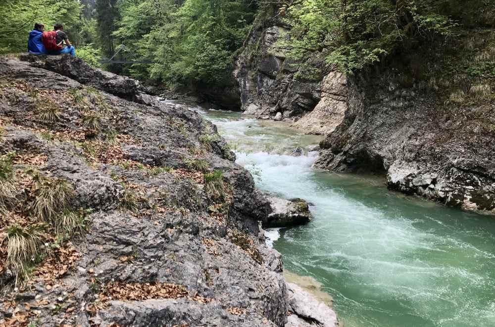 Wandern Inntal: Das ist die Tiefenbachklamm bei Kramsach
