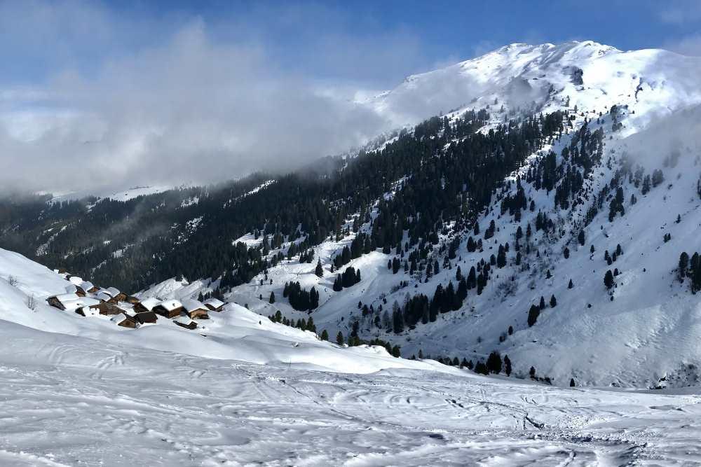 Die Tuxer Alpen im Winter - mein Ziel für Skitouren in Tirol