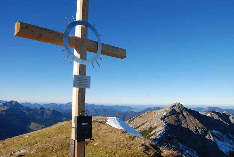 Von Achenkirch auf den Unnutz wandern im Rofangebirge